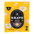 Krave Pork Jerky - Grilled Sweet Teriyaki - Case of 8 - 2.7 oz