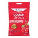 Herbion Naturals - Cough Drops Cherry - 1 Each - 25 CT