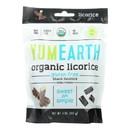 Yumearth Organics Licorice - Organic - Black - Soft - Case of 12 - 5 oz