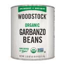 Woodstock Organic Garbanzo Beans - Case of 6 - 110 OZ