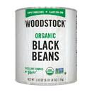 Woodstock Organic Black Beans - Case of 6 - 110 OZ
