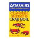 Zatarain's Crab Boil - Dry - Case of 6 - 3 oz