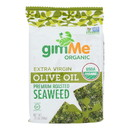Gimme Seaweed Snacks Seaweed Snack - Organic - Extra Virgin Olive Oil - Case of 12 - .35 oz