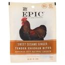 Epic - Jerky Bites - Sweet Sesame Ginger - Case of 15 - 1 oz.