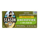 Season Flat Anchovies In Olive Oil - Case of 12 - 2 oz