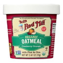 Bob's Red Mill - Oatmeal Cup - Organic Cranberry Orange - Gluten Free - Case of 12 - 2.47 oz