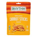 Rhythm Superfoods Organic Carrot Sticks - Case of 12 - 1.4 oz