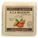 A La Maison - Bar Soap - Sweet Almond - Case Of 6 - 3.5 Oz