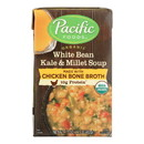 Pacific Natural Foods Organic White Bean Kale & Millet Soup - Case of 12 - 17 oz
