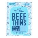 The New Primal - Beef Thins Sea Salt Paleo - Case of 8 - 1 oz