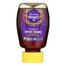 Heavenly Organics Honey - 100% Organic Raw Neem Squeeze Honey - Case of 6 - 12 oz.