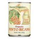 Omena Organics - Beans Pinto - Case of 12 - 15 oz