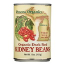 Omena Organics - Kidney Beans Dark Red - Case of 12 - 15 oz