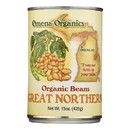 Omena Organics Great Northern Organic Beans Great Northern - Case of 12 - 15 oz