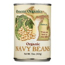 Omena Organics - Beans Navy - Case of 12 - 15 oz