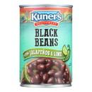 Kuner Black Beans - Case of 12 - 15 oz