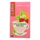 Clipper Tea - Organic Tea - Strawberry Fields - Case of 6 - 20 bags