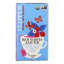 Clipper Tea - Organic Tea - Red White You - Case of 6 - 20 bags