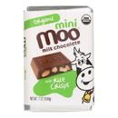 Mini Moo Organic Milk Chocolate With Rice Crisps Bar - Case of 14 - .07 oz