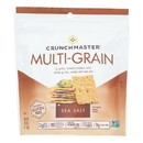 Crunchmaster - Multigrn Cracker Sea Salt - Case of 12 - 4 oz