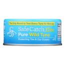 Safe Catch Solid Wild Tuna Steak - Case of 12 - 5 oz
