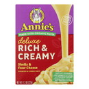 Annie's Homegrown - Mac&chs Dlx 4chs Shel - Case of 12 - 11.3 oz