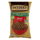 Snyder's Of Hanover - Pretzels Mini Family Size - Case of 6 - 17 oz
