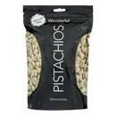 Wonderful Pistachios - Pistachios Raw - Case of 12 - 16 oz