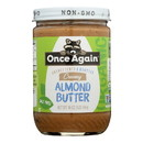 Once Again - Almond Butter Organic Smth Ns - Case of 6-16 oz