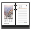 AT-A-GLANCE AAGE41750 Photographic Desk Calendar Refill, 3 1/2 X 6, 2017