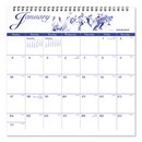 AT-A-GLANCE G1000-17 12-Month Illustrator's Edition Wall Calendar, 12 x 12, Illustrations, 2021