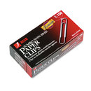 ACCO BRANDS ACC72510 Premium Paper Clips, Nonskid, Jumbo, Silver, 100/box, 10 Boxes/pack