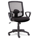 Alera ALEET42ME10B Etros Series Mesh Mid-Back Swivel/tilt Chair, Black