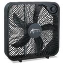 Alera FANBX20B 3-Speed Box Fan, Black