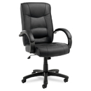 ALERA ALESR41LS10B Strada Series High-Back Swivel/tilt Chair, Black Top-Grain Leather Upholstery