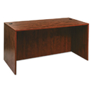 ALERA ALEVA216030MC Valencia Series Straight Front Desk Shell, 59 1/8 X 29 1/2 X 29 1/2, Med Cherry