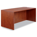 ALERA ALEVA216630MC Valencia Series Straight Front Desk Shell, 65w X 29 1/2d X 29 1/2h, Med Cherry