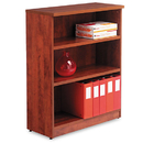 ALERA ALEVA634432MC Valencia Series Bookcase, Three-Shelf, 31 3/4w X 14d X 39 3/8h, Medium Cherry