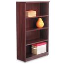 ALERA ALEVA635632MY Valencia Series Bookcase, Four-Shelf, 31 3/4w X 14d X 55h, Mahogany