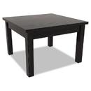 Alera ALEVA7520BK Valencia Series Occasional Table, Rectangle, 23-5/8w X 20d X 20-3/8h, Black