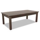 Alera ALEVA7548MY Valencia Series Occasional Table, Rectangle, 47-1/4 X 20 X 16 3/8, Mahogany