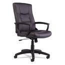 Alera ALEYR4119 Yr Series Executive High-Back Swivel/tilt Leather Chair, Black