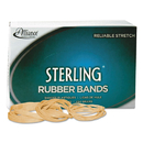 ALLIANCE RUBBER ALL25405 Sterling Rubber Bands Rubber Bands, 117b, 7 X 1/8, 250 Bands/1lb Box