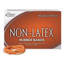 ALLIANCE RUBBER ALL37196 Non-Latex Rubber Bands, Sz. 19, Orange, 3-1/2 X 1/16, 1750 Bands/1lb Box
