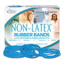 ALLIANCE RUBBER ALL42179 Antimicrobial Non-Latex Rubber Bands, Sz. 117b, 7 X 1/8, .25lb Box