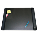 ARTISTIC LLC AOP413841 Executive Desk Pad With Leather-Like Side Panels, 24 X 19, Black