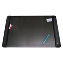 ARTISTIC LLC AOP413861 Executive Desk Pad With Leather-Like Side Panels, 36 X 20, Black