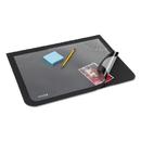 ARTISTIC LLC AOP41700S Lift-Top Pad Desktop Organizer With Clear Overlay, 22 X 17, Black