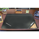 ARTISTIC LLC AOP48043S Hide-Away Pvc Desk Pad, 31 X 20, Black
