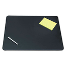 ARTISTIC LLC AOP510041 Sagamore Desk Pad W/decorative Stitching, 24 X 19, Black